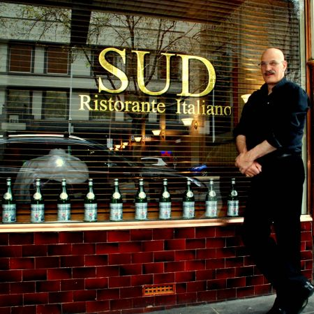 Classic Roman Gold Leaf Gilding.<br /> SUD Food & Wine. King St. Melbourne.<br /> Proud owner > Vincenzo