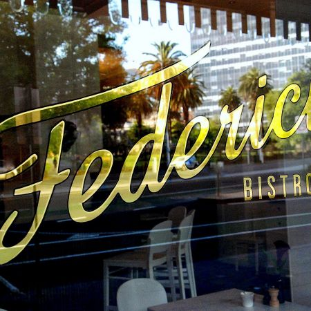 Gold Leaf Signwriting. Federici Bistro, Princes Theatre, Melbourne