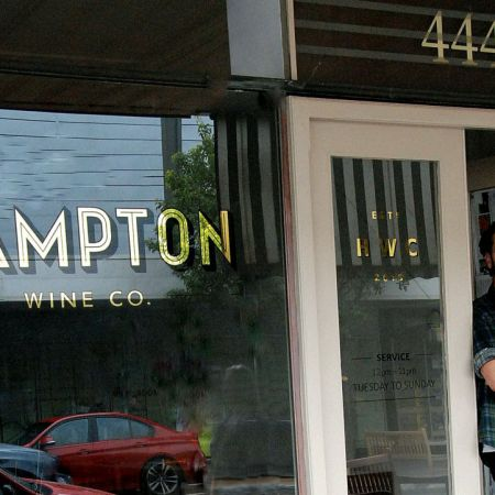Various stages during gilding process/ Before Burnishing &amp; Finish.                 <br /> HAMPTON Wine Co.<br /> Location: 444 Hampton St. H
