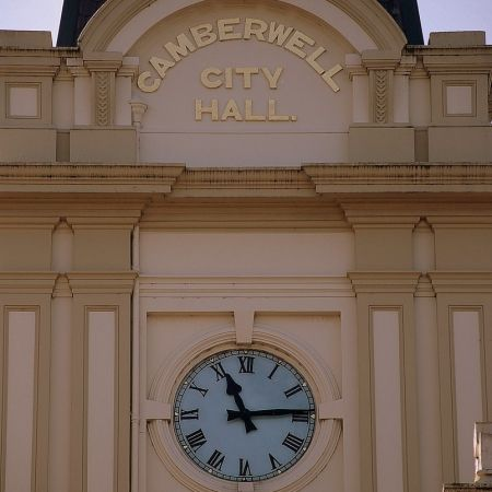 Camberwell City Hall Clock-face Restoration - Finished