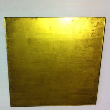 Gold Glass Panel (Distressed effect)