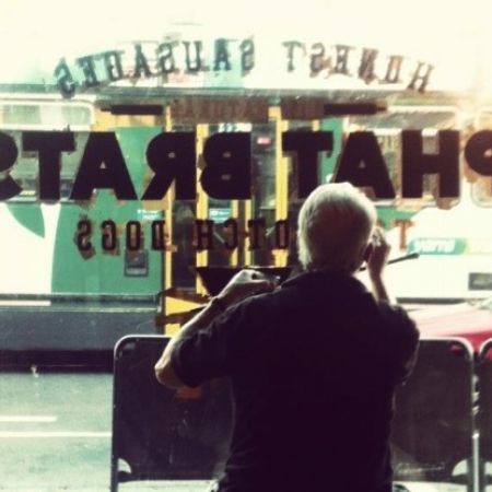 Phat Brats, Brunswick Street, Fitzroy.  Hand Done Reverse 24kt Gold Leaf Glass Gilding.